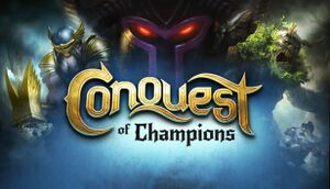 Conquest of Champions cover