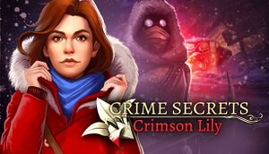 Crime Secrets: Crimson Lily cover