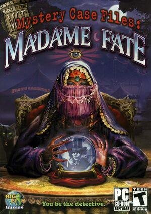 Mystery Case Files: Madame Fate cover