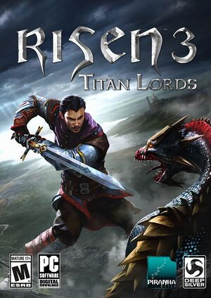 Risen 3: Titan Lords cover