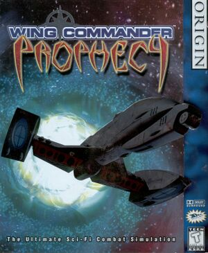 Wing Commander: Prophecy cover
