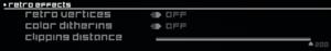 Retro options