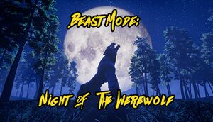 Beast Mode: Night of the Werewolf cover