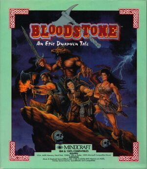 Bloodstone: An Epic Dwarven Tale cover