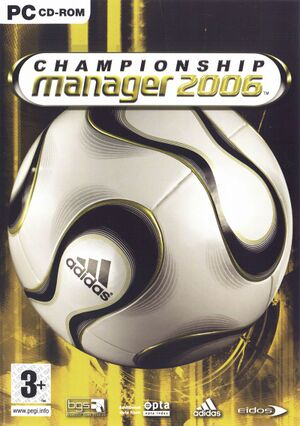Championship Manager 2006 cover