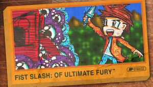 Fist Slash: Of Ultimate Fury cover