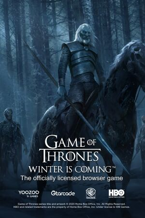Game of Thrones Winter is Coming cover