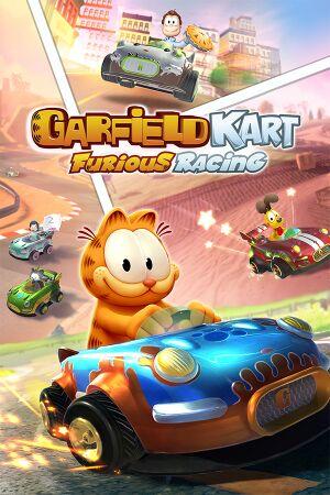 Garfield Kart: Furious Racing cover