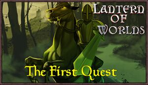 Lantern of Worlds - The First Quest cover