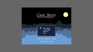 Cave Story using pixel-perfect / integer-ratio scaling.