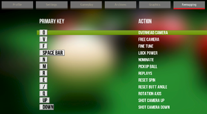 Remapping tab.