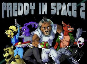 Freddy in Space 2 cover