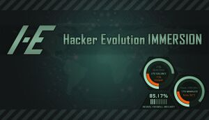 Hacker Evolution: Immersion cover