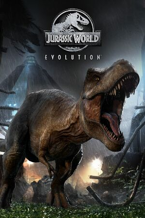 Jurassic World Evolution cover