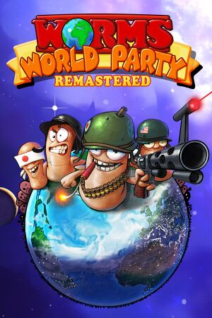 Worms World Party Remastered cover