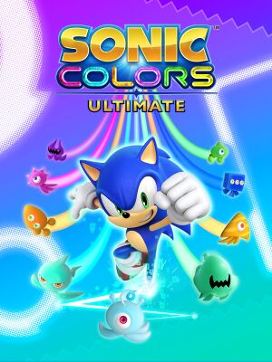 Sonic Colors: Ultimate cover