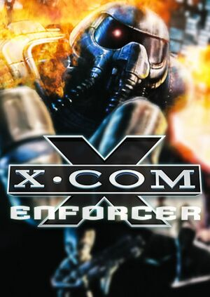 X-COM: Enforcer cover