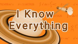I Know Everything cover