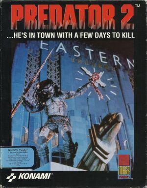 Predator 2 cover