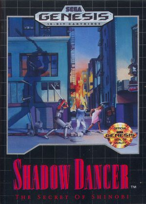 Shadow Dancer: The Secret of Shinobi cover