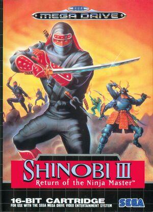 Shinobi III: Return of the Ninja Master cover
