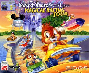 Walt Disney World Quest: Magical Racing Tour cover