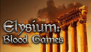 Elysium: Blood Games cover