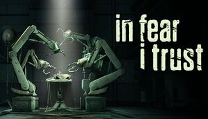 In Fear I Trust cover