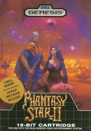 Phantasy Star II cover