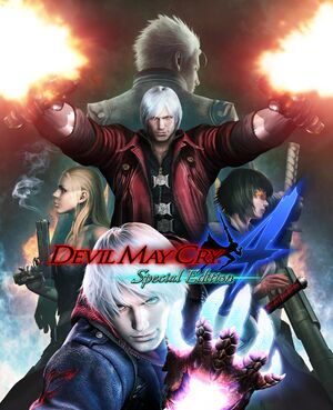 Devil May Cry 4 Special Edition cover