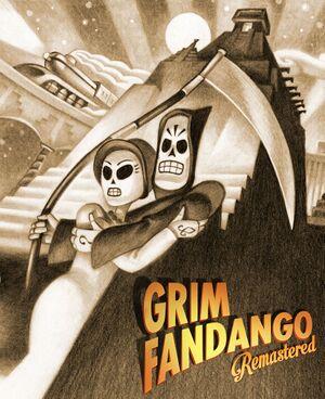 Grim Fandango Remastered cover