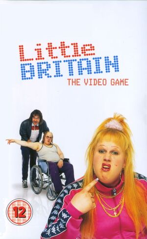 Little Britain: The Video Game cover