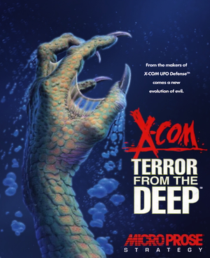 X-COM: Terror from the Deep cover
