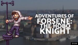 Adventures of forsenE: The Hobo Knight cover
