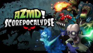 All Zombies Must Die!: Scorepocalypse cover
