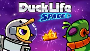 Duck Life: Space cover