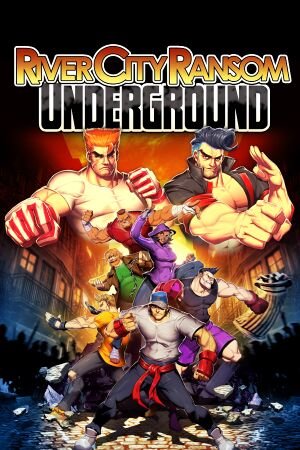 River City Ransom: Underground cover