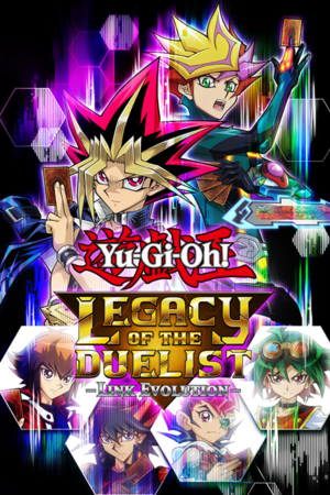 Yu-Gi-Oh! Legacy of the Duelist:Link Evolution cover