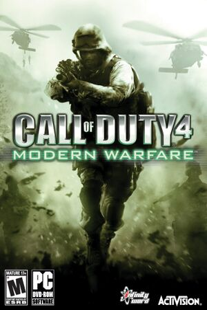 Call of Duty 4: Modern Warfare cover