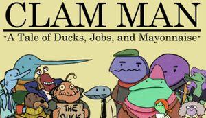 Clam Man cover