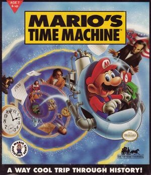 Mario's Time Machine cover