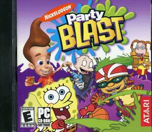 Nickelodeon Party Blast cover