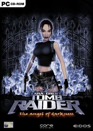 Tomb Raider: The Angel of Darkness cover