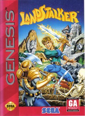 Landstalker: The Treasures of King Nole cover