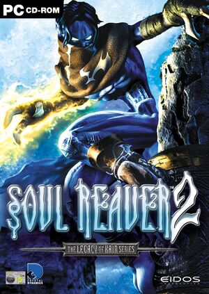 Legacy of Kain: Soul Reaver 2 cover