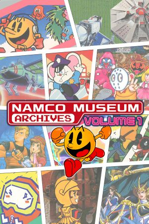 Namco Museum Archives Vol. 1 cover