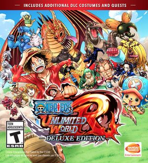 One Piece: Unlimited World Red Deluxe Edition cover