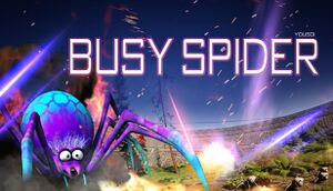 Busy spider cover