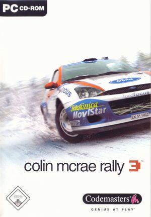 Colin McRae Rally 3 cover