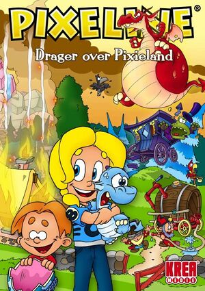 Pixeline: Drager over Pixieland cover